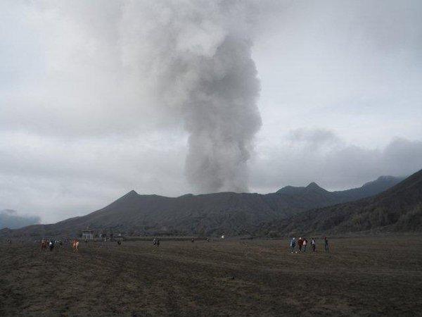 К вулкану Бромо, остров Ява, Индонезия