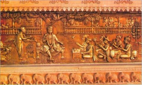 Акшархрам, гуру дает учение