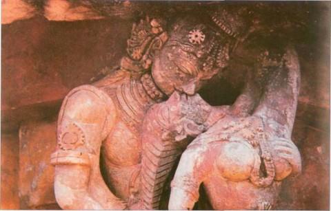 образец скульптуры периода правления династии Чолы