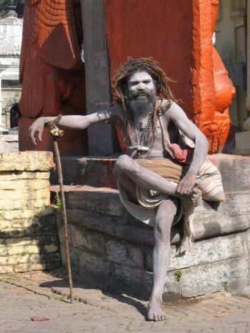Непальский садху