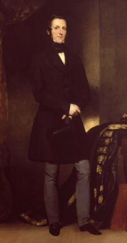 Лорд Далхузи в 1847 г. С картины Дж.Уотсона-Гордона