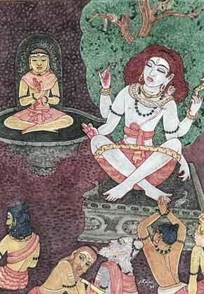 Иллюстрация к шлоке 5 Танца с Шивой