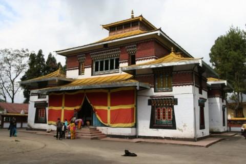 Энчей Гомпа. Главное здание монастыря