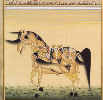 Лошадь, Восточная коллекция Wellcome Library