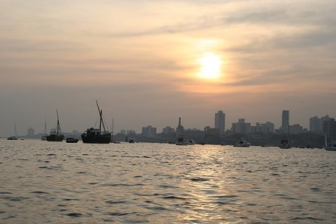 Мумбай на закате