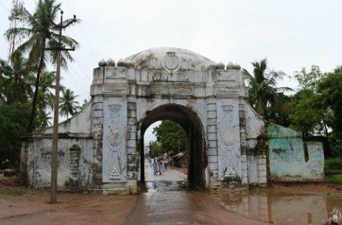 Транкебар. Городские ворота