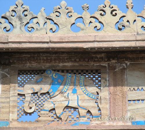 Гвалиорский слоник из форта