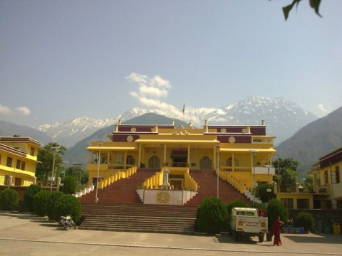 Гьюто тантрик монастырь