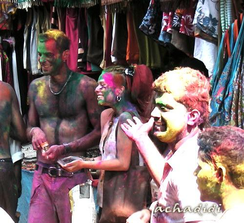 Холи - буйство красок и общая радость, Гоа