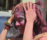 яркий индийский праздник Холи