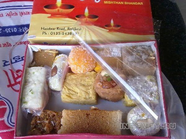 индийские сладости на дивали