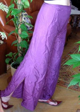 Индийские штаны, сбоку