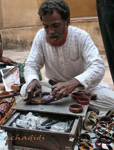 Ремесленник мусульманин из Амбера - начало работы