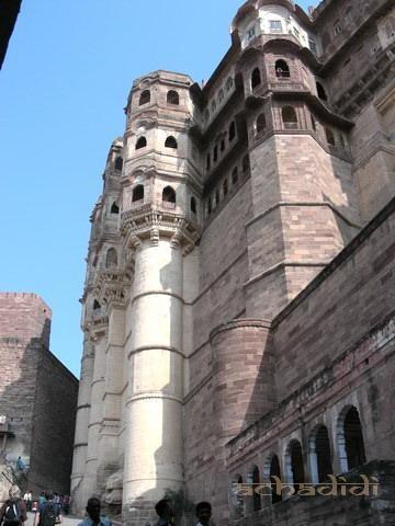 Форт Джодхпура внутри крепостной стены
