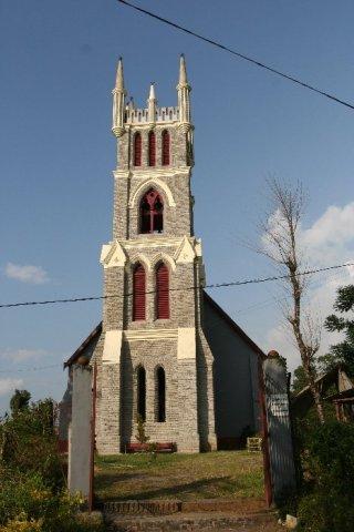 Калимпонг. Мемориальная церковь МакФэрлена
