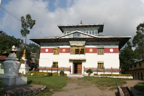 Калимпонг. Монастырь Тхонгса Гомпа