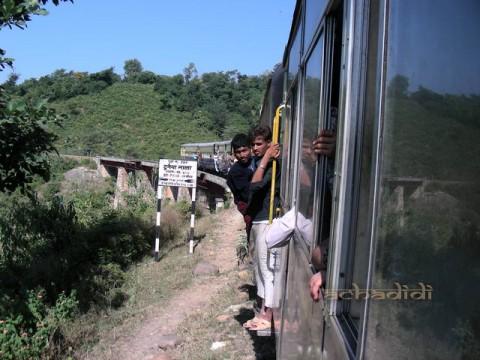 Поезд Патханкот - Кангра