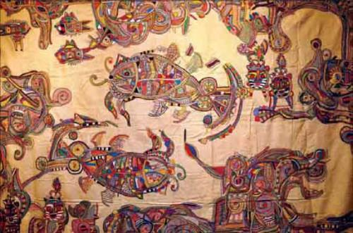 Художественная вышивка Кантха