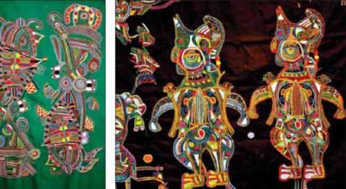 Вышивка Кантха - ремесленная фантастика