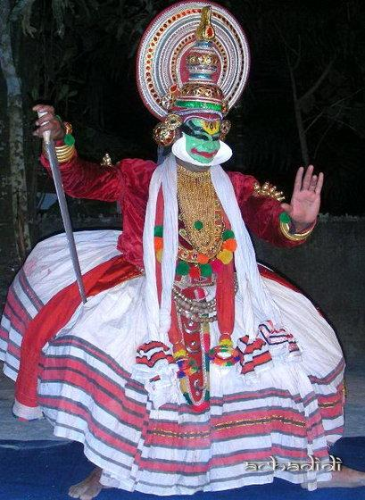 индийские классические танцы, катакали