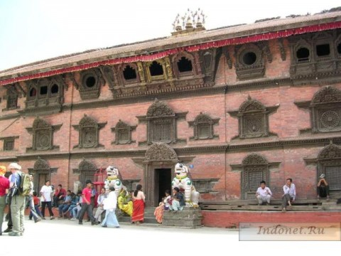 Катманду, Дурбар, дворец Кумари деви