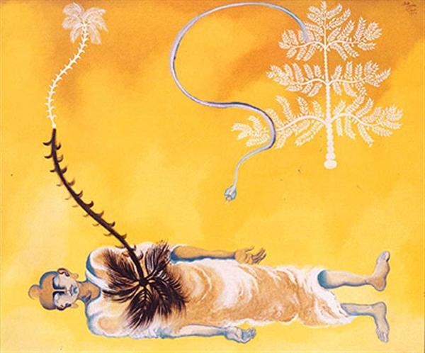 Tree of Suffering Tree of Enlightenment http://www.saffronart.com