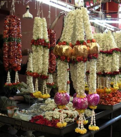 Цветочный рынок Майсора