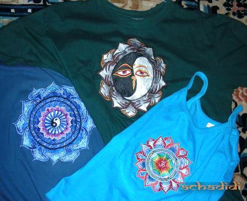 Непальские вышитые футболки и майка