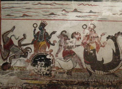 Росписи Радж махала Орчи