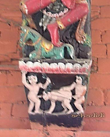 Пашупатинатх, храм Шивы, групповуха