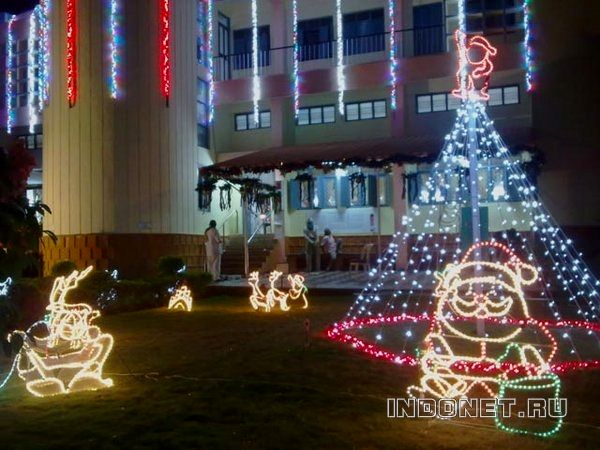 рождество в путтапарти, индия