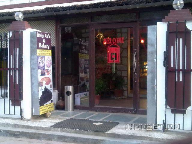 divine cafe в в районе Тапован, Ришикеш