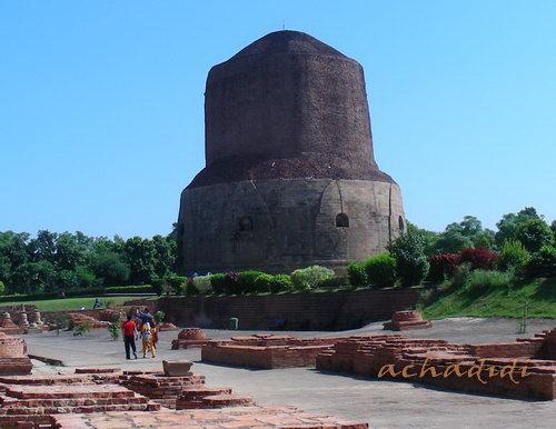 Дхамедх ступа в Сарнатхе
