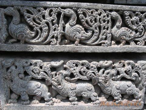 Орнаментальные фризы Сомнатхпура