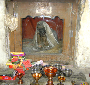мумия в старом доме