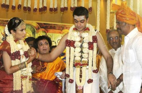Свадьба тамильских актеров. Фото R.Ragu thehindu.com