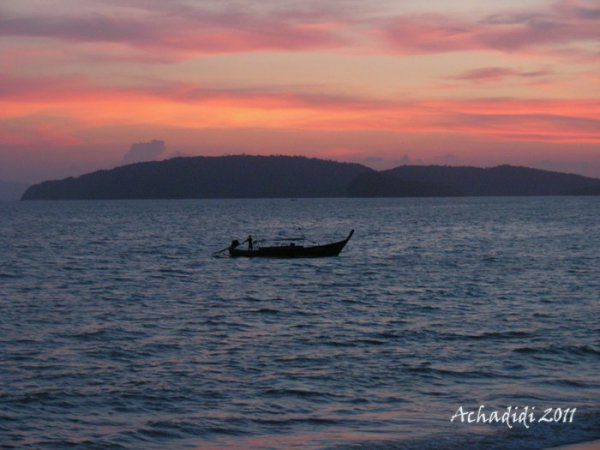 Закат над Ао Нангом