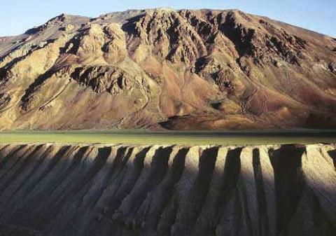 Высокогорное плато в северной Индии