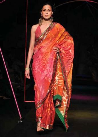 Сари от кутюр к статье NIFT - родина индийской моды