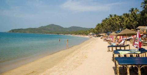 Гоа, пляж Палолем