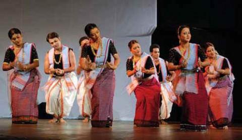 Танцоры Манипури