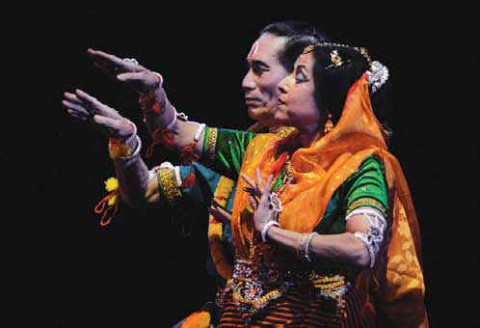 Парный танец традиции Манипури