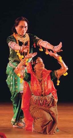 Парный танец манипури