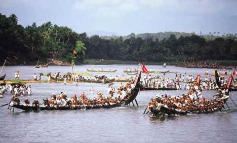 Керала, водный праздник